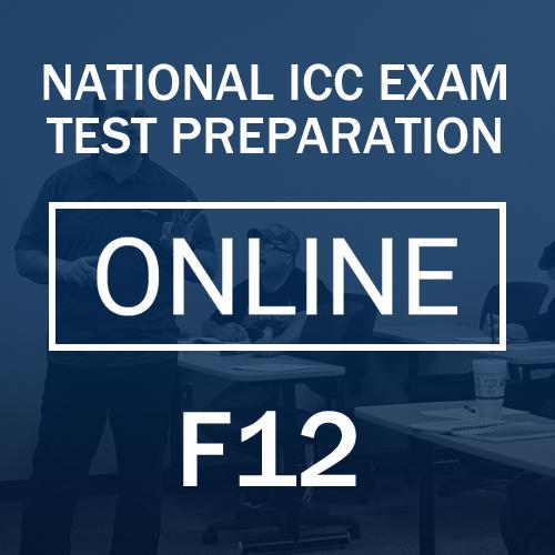 F12 Test Preparation