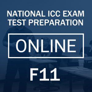 F11 Test Preparation