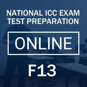 F13 test preparation